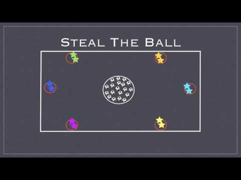 Physical Education Games - Steal The Ball