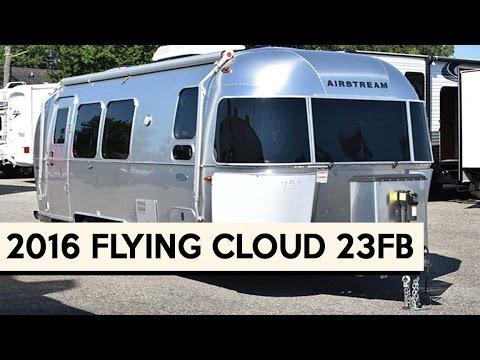 Popular Quick Walk Around On A 2017 Airstream 23 FB Flying Cloud | Doovi