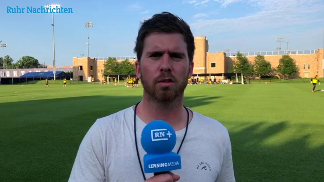 USA-Reise, Tag 4: Der BVB vor dem Liverpool-Spiel
