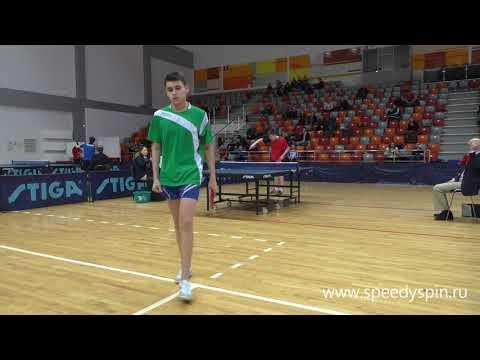 Bokov-Makarov.Russian Junior Table Tennis Championship 2018. FHD.