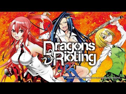 Dragons Rioting (Manga) – Trailer