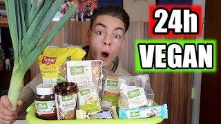 24 STUNDEN NUR VEGAN ESSEN CHALLENGE !!!   Nico Lifestyle