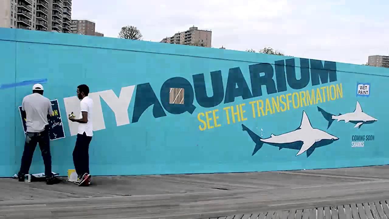 New York Aquarium Transformation Youtube