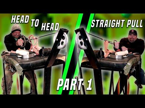 Devon Larratt Vs Big Jeff | Head To Head Straight Pull | Part 1 Of 2