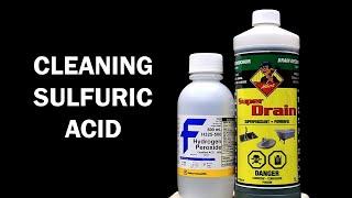 Purifying Sulfuric Acid Drain Cleaner
