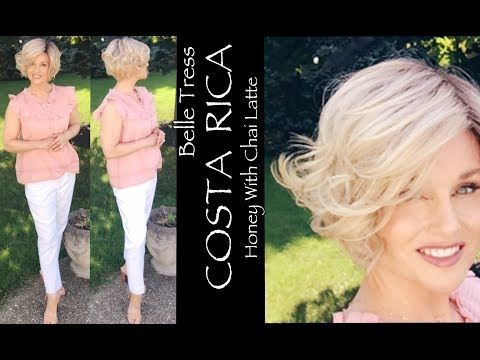 Belle Tress COSTA RICA Wig Review | Honey With Chai Latte | Compare To TIA MARIA