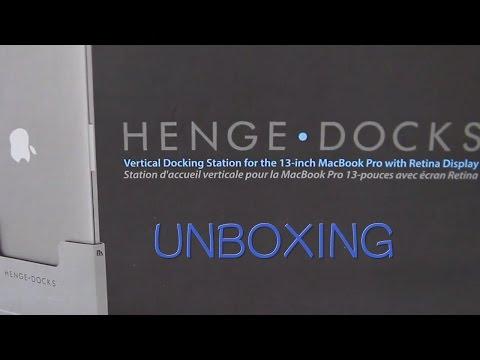 Henge Docks Vertical Docking Station Unboxing