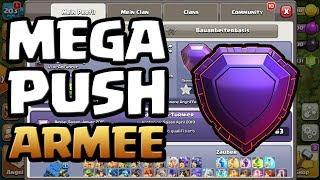Pushen für das nächste Update ? | Spaßige Push Armee | Clash of Clans deutsch