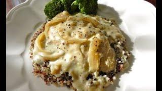 Chicken Quinoa With Dijon Cream Sauce