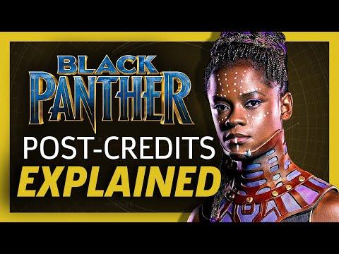 Black Panther End Credit Scenes Explained!