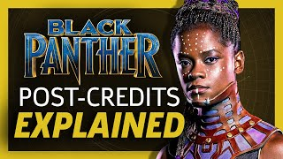 Black Panther End Credit Scenes Explained!