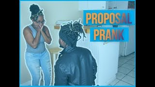 Proposal Prank *Gone Horribly wrong*  (Must WATCH)