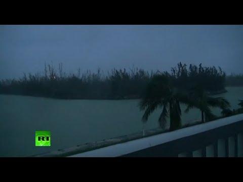 Hurricane Dorian hits northern Bahamas