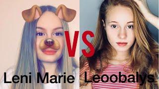 Leni Marie VS Leoobalys Musical.ly Battle Compilation 🔥
