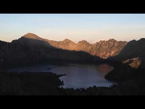 Time Lapse Gunung Rinjani
