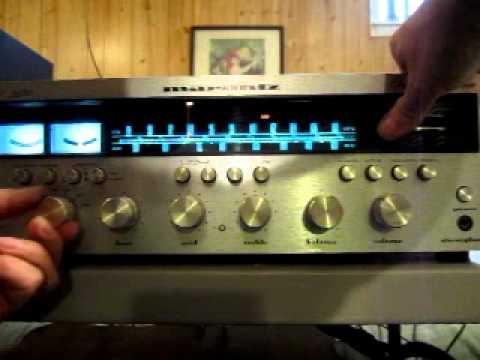 Marantz 2270 AM FM STEREO RECEIVER vintage 1970's tuner amp 22222222 007.MOV