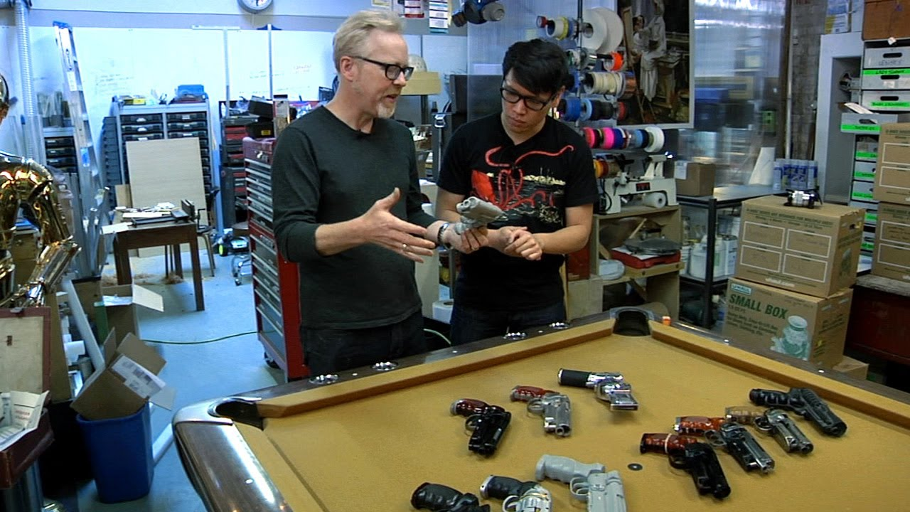 garage building ideas - Adam Savage s Blade Runner Blaster Obsession