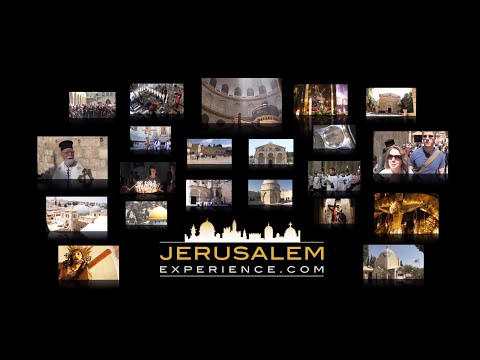 Christian Virtual Tour (Pilgrimage) to Jerusalem - Follow Jesus in Jerusalem