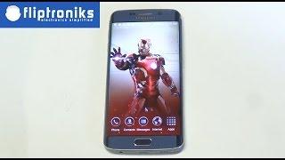 Avengers Age Of Ultron Iron Man Theme for Galaxy S6 Edge