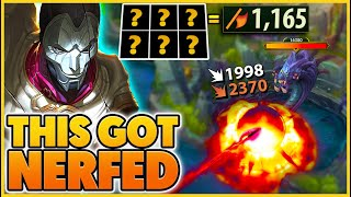 *1,000+ AD JHIN* I Get PENTAKILL From 2,000+ Range Away!! (HOTFIXED) - BunnyFuFuu |League of Legends