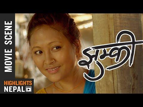 समय संगै मान्छे नि बदलिनु जरुरि छ - Nepali Movie JHUMKEE Scene   Rishma Gurung, Manoj R.C