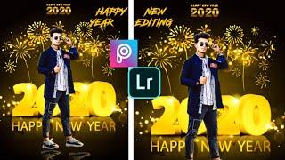 Happy New Year 2020 Viral Photo Editing Instagram Viral Photo Editing Full tutorial In Picsart