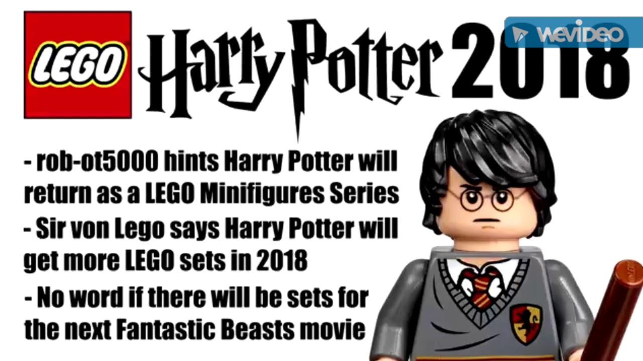 Rumor Lego Harry Potter Minifigures series for 2018 - YouTube