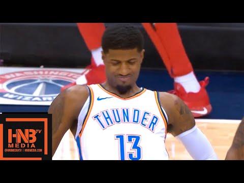 Oklahoma City Thunder vs Washington Wizards 1st Half Highlights   11.02.2018, NBA Season