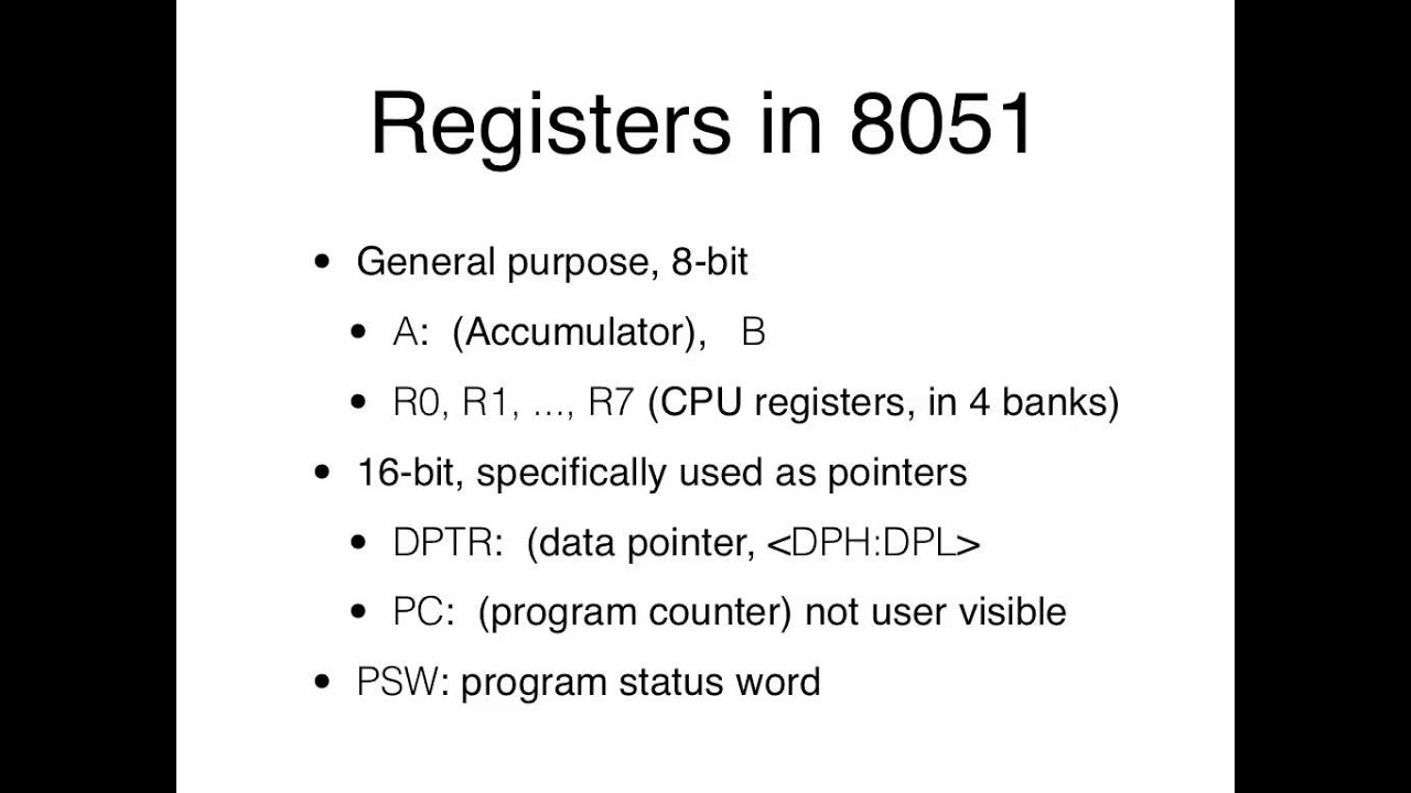 medium resolution of week 03 02 8051 isa block diagram memory spaces
