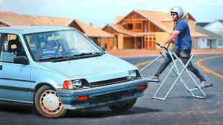 CAR BROS' GYMPKHANA: A #VIRAL CAR #ACTION VIDEO