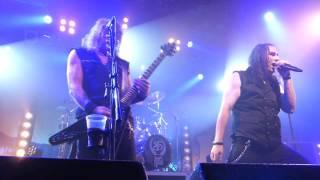 Gamma Ray - Medley: Rebellion, HM Universe, Ride The Sky, Somewhere live @ Zeche Bochum 01.11.2015