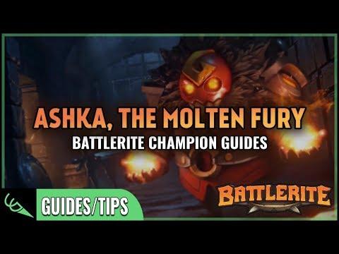 Ashka Guide - Detailed Champion Guides   Battlerite