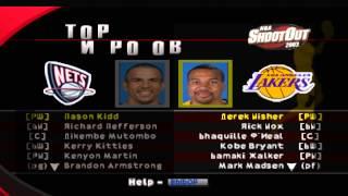 NBA ShootOut 2003 Kudos