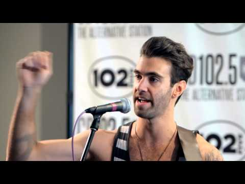 American Authors Live Music & Interview in the CD102.5 Big Room