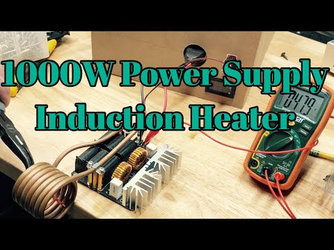 Switching Power Supply Enclosure: 1000W Induction Heater