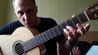 АРИЯ-Закат.Вступление.Разбор на гитаре.Урок