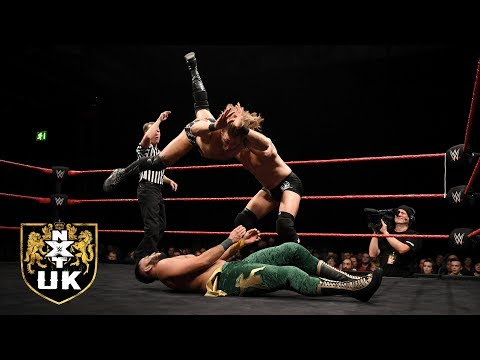 Zack Gibson & James Drake vs. Amir Jordan & Kenny Williams: NXT UK, Nov. 28, 2018