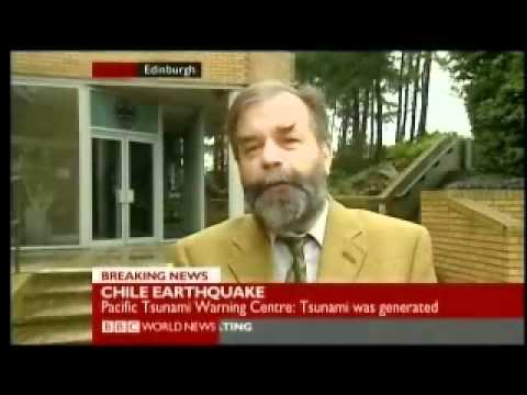 Chile 2010 Earthquake 1 of 5 - First Strike - BBC World News