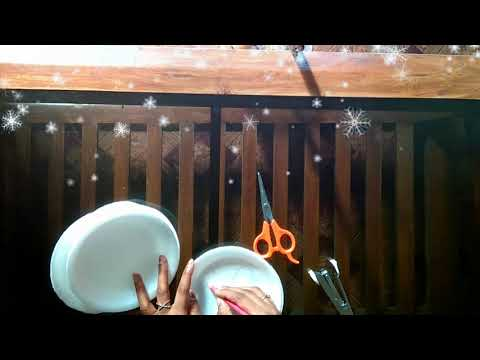 DIY Making butterfly with Disposable plates
