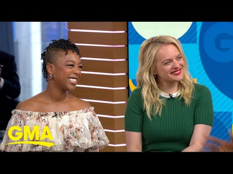 Elisabeth Moss and Samira Wiley talk the new season of 'The Handmaid's Tale' l GMA