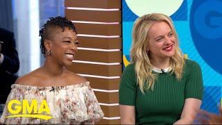 Elisabeth Moss and Samira Wiley talk the new season of 'The Handmaid's Tale' l GMA