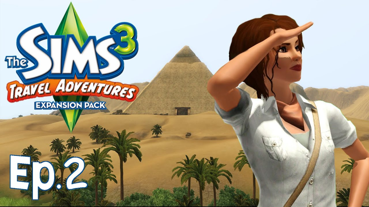 the sims 3 la piramide del cielo ep 2 travel adventures gameplay ita youtube