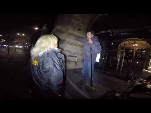 Last night the Whats on Bristol team went out on the Streets of Bristol with the #Homeless