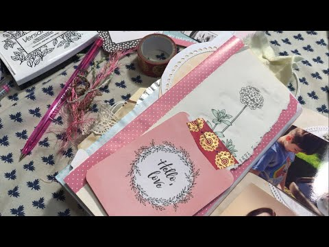 Junk Journal With Me / Using A JJ Kit / Catch-up Journal Episode 4 | I'm A Cool Mom