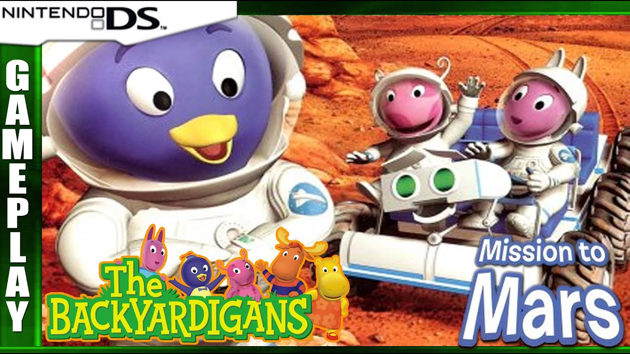 The Backyardigans: Mission to Mars [DS] Gameplay #2 - YouTube