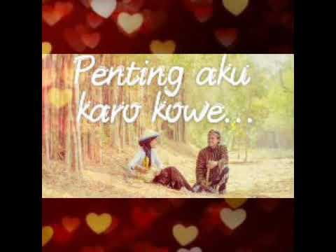 Status WA Romantis Jawa ( Pokok.e Koe Viaval)
