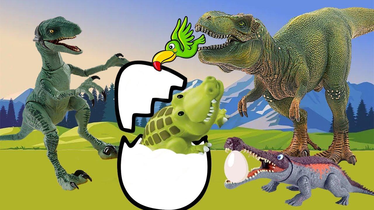 حواديت أطفال | حدوتة الديناصور المبطط