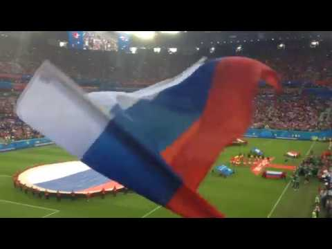 Russia Egypt National Anthems. Гимн России!
