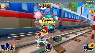 iGameBox🤩Subway Surfers HD Seoul Fullscreen*Tricky Gameplay For Kid #3