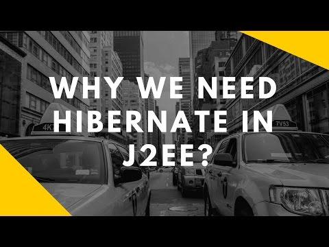 Hibernate Tutorial - Introduction - Why we need Hibernate in J2EE